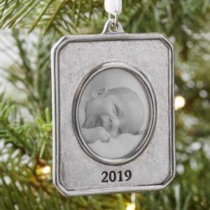 Pottery Barn picture ornament